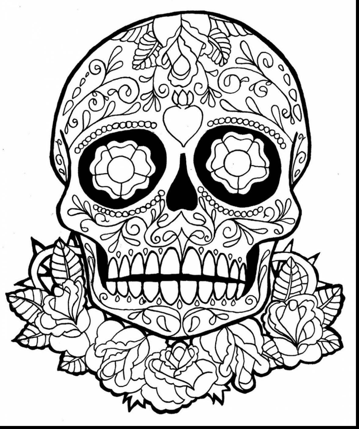 1177x1408 New Fantastic Dia De Los Muertos Skull Coloring Page With Day