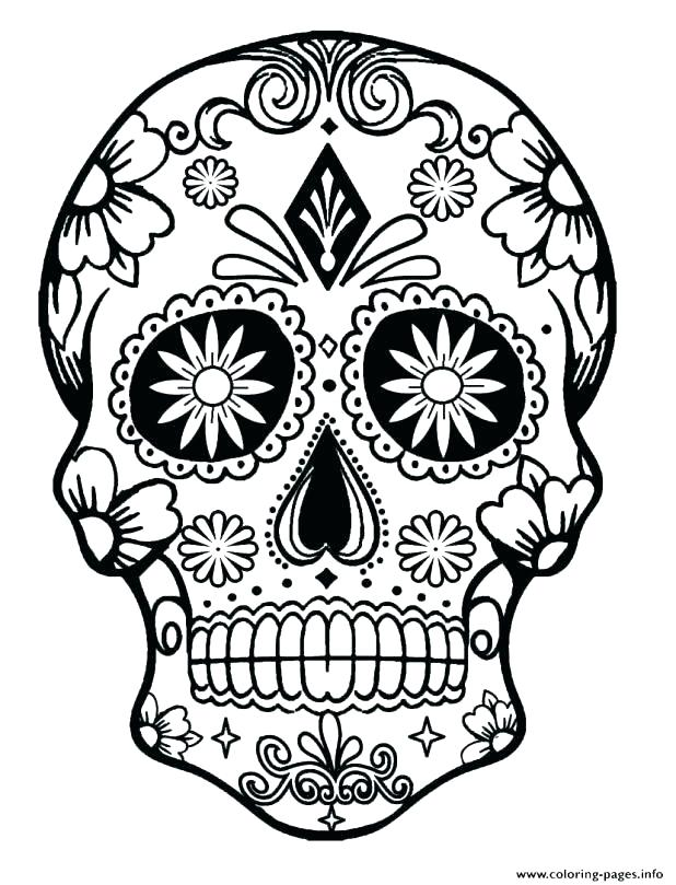 618x809 Dia De Los Muertos Printable Coloring Pages Printable Day