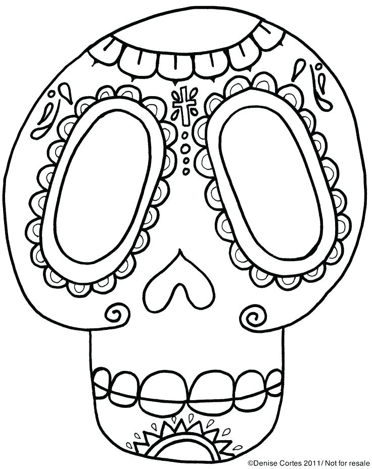 736x927 El Dia De Los Muertos Coloring Pages Printable Coloring Pages