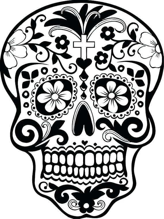 570x761 Dia De Los Muertos Coloring Pages Dia De Los Muertos Coloring