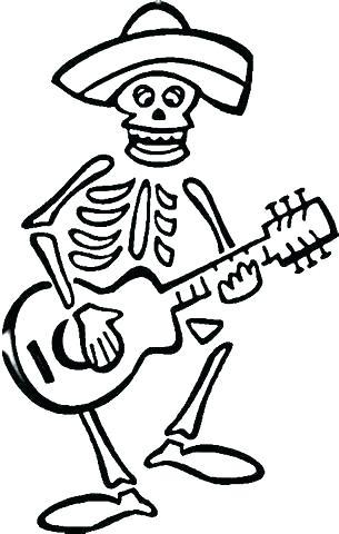 305x480 El Dia De Los Muertos Coloring Pages Skull Coloring Pages Dia De
