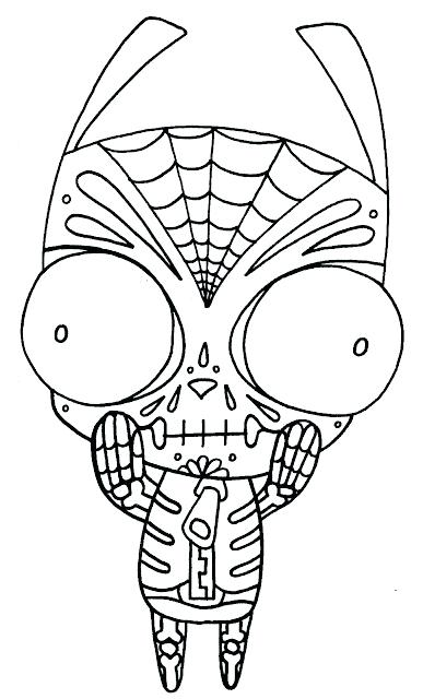 387x640 Dia De Los Muertos Coloring Pages Dia De Los Muertos Art Coloring