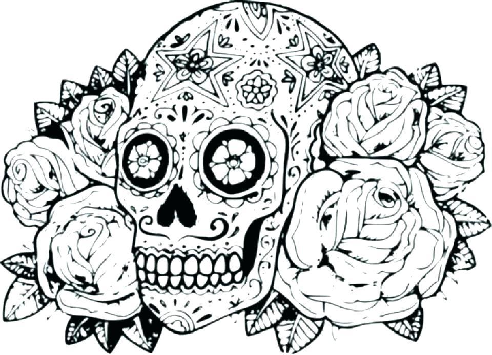 960x694 Dia De Los Muertos Coloring Pages There Dia De Los Muertos Couple