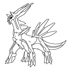 Dialga Coloring Pages At Getdrawings Free Download