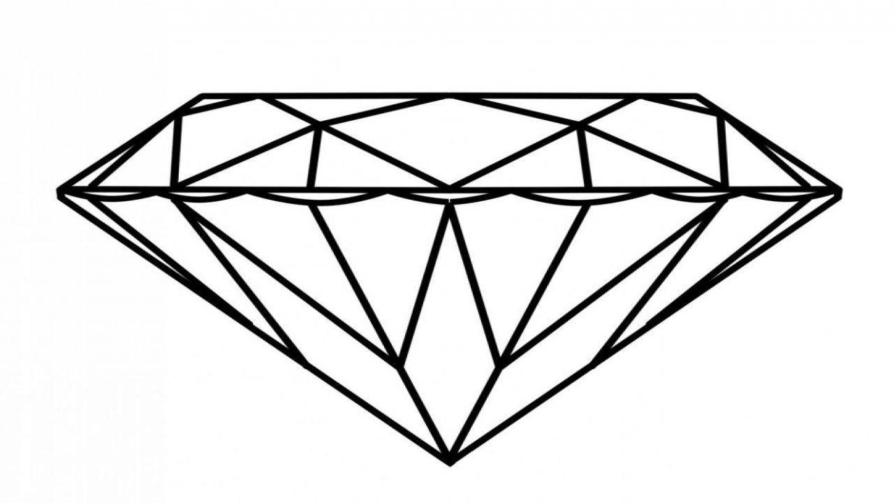 diamond coloring page at getdrawings  free download