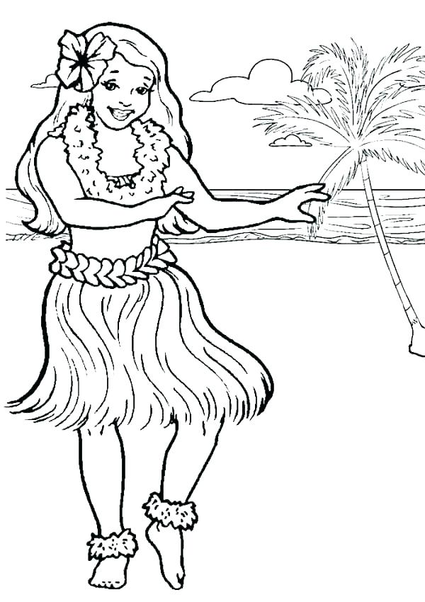 600x850 Printable Pictures Of Diamond Head Hawaii State Flag Coloring Page
