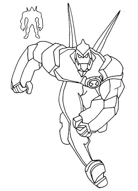 580x800 Ben Coloring Pages Diamond Head Coloring Pages