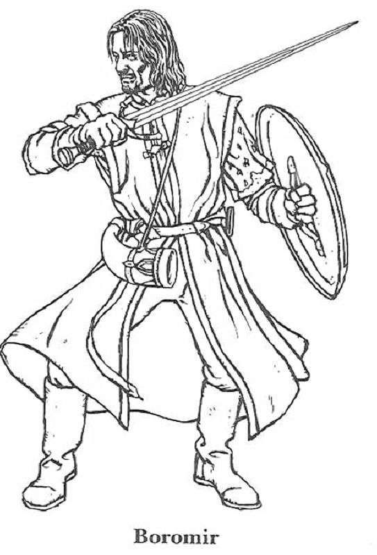 543x800 Lord Of The Rings Coloring Pages Art Lord, Ring