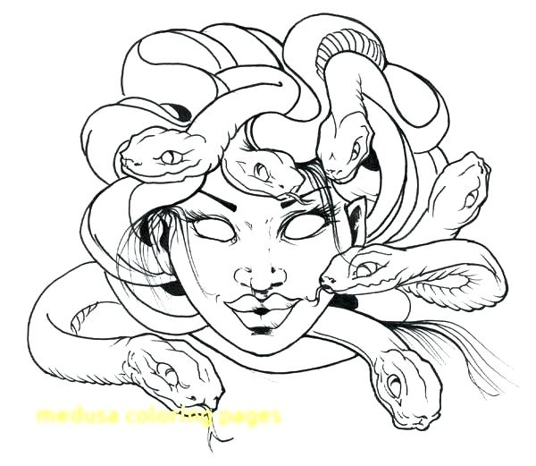 600x521 Rattlesnake Coloring Page Coloring Pages Of A Snake Medusa