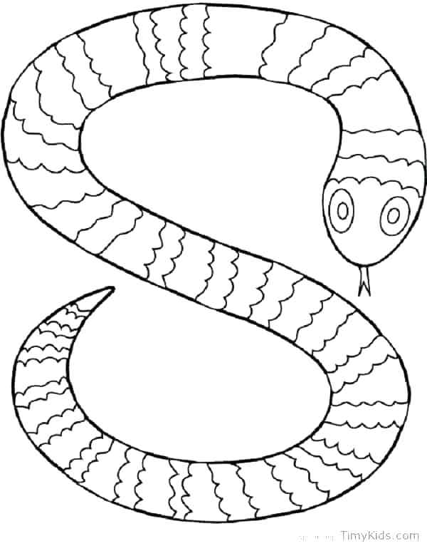 600x766 Coloring Pages Snake Snake Coloring Pages For Adults Copperhead