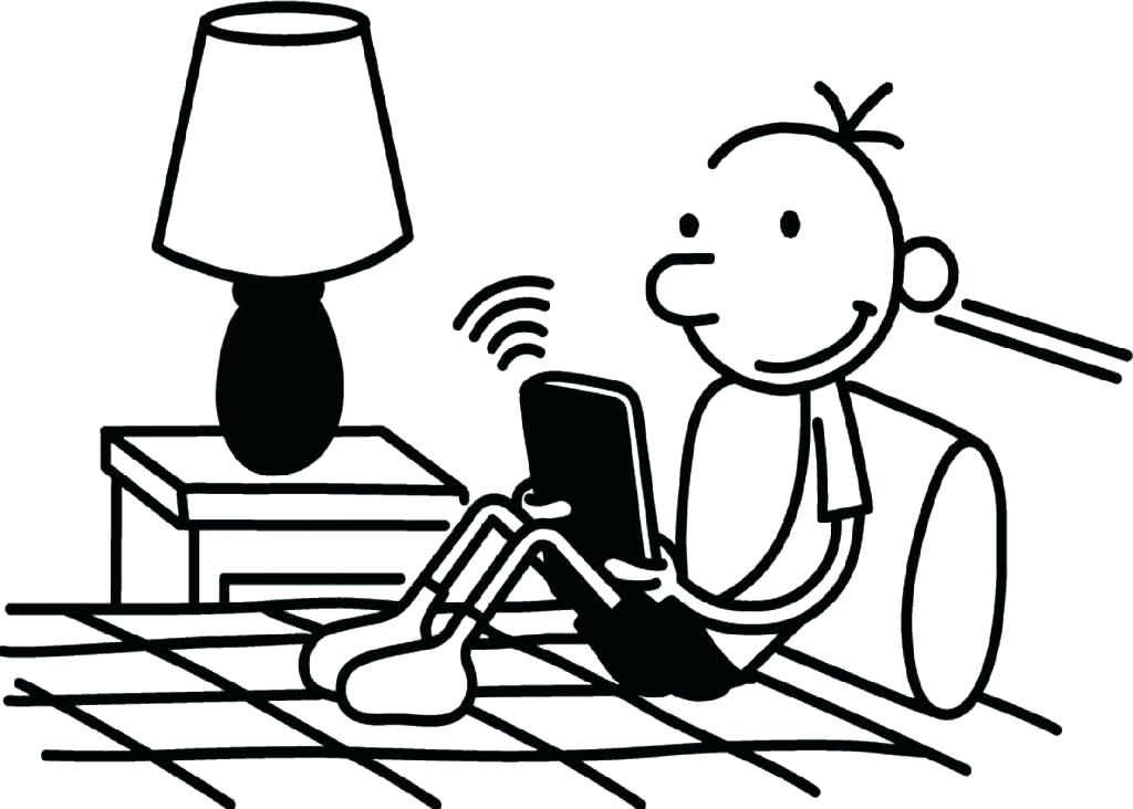 Free Diary Of A Wimpy Kid Coloring Pages, Download Free Clip Art ... | 732x1024
