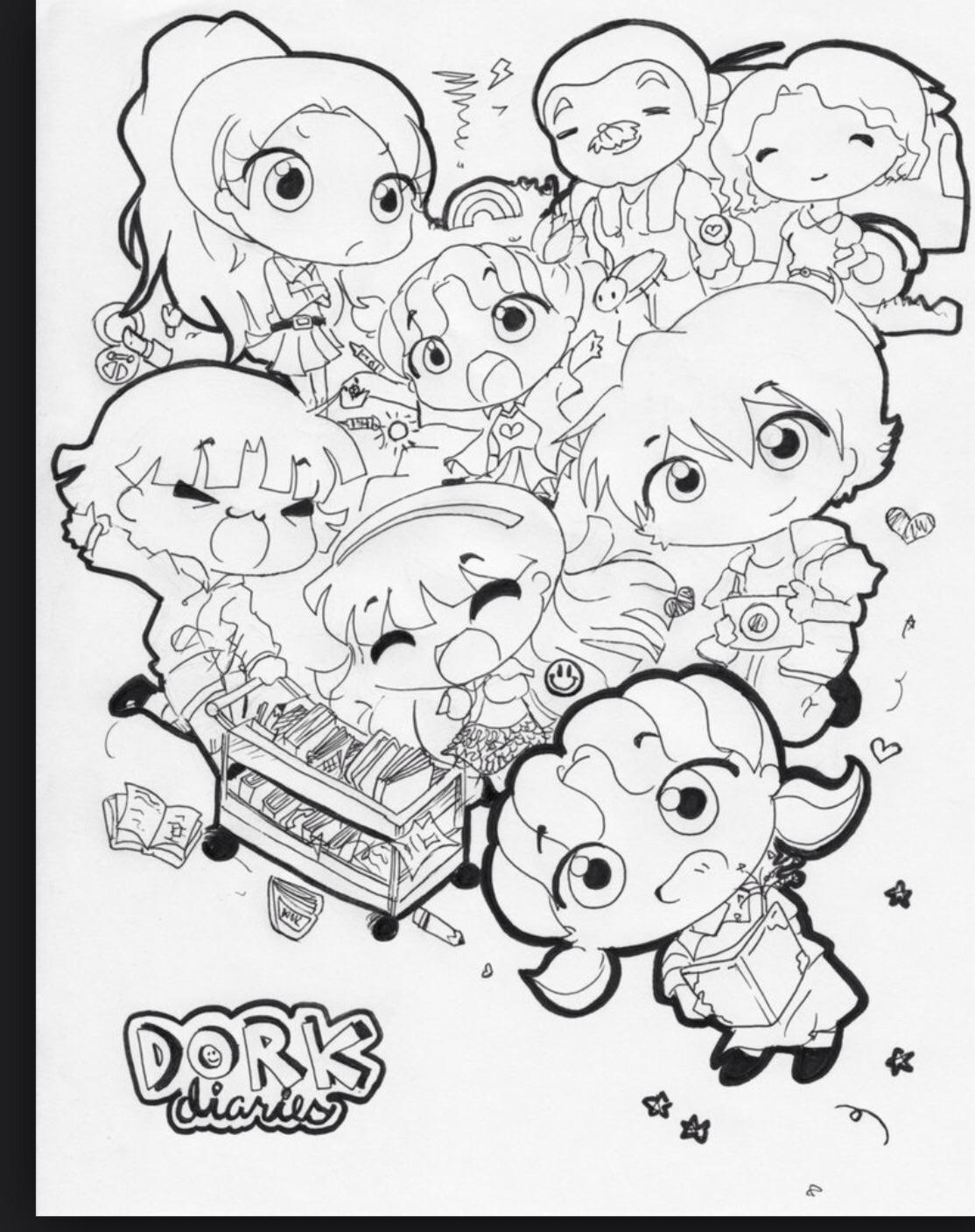 Diary Coloring Page at GetDrawings | Free download