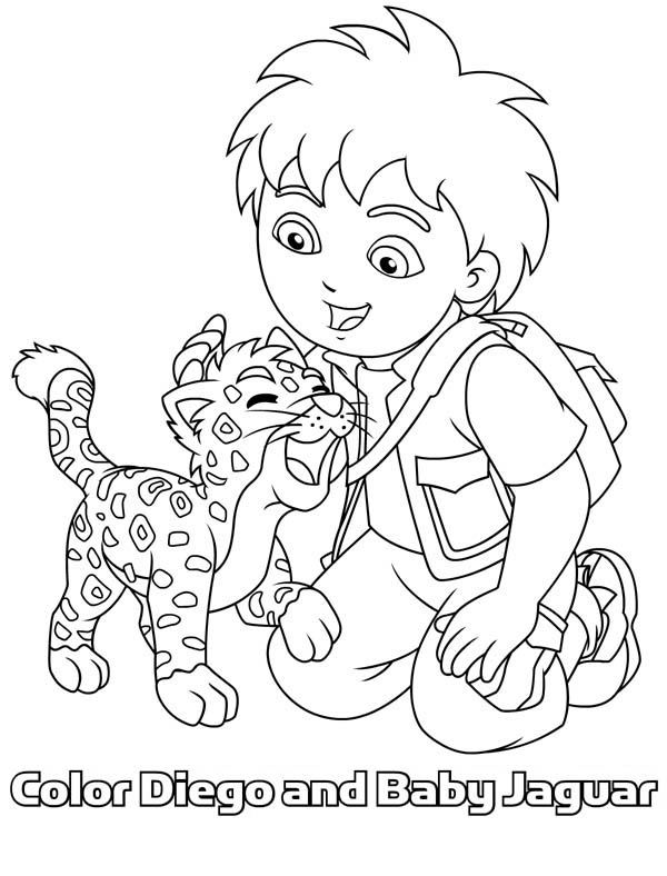 Diego Coloring Pages