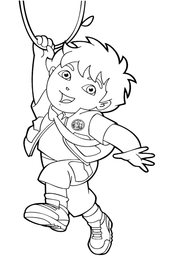 567x850 Diego Coloring Pages Overview With All Kind Of Free Sheets
