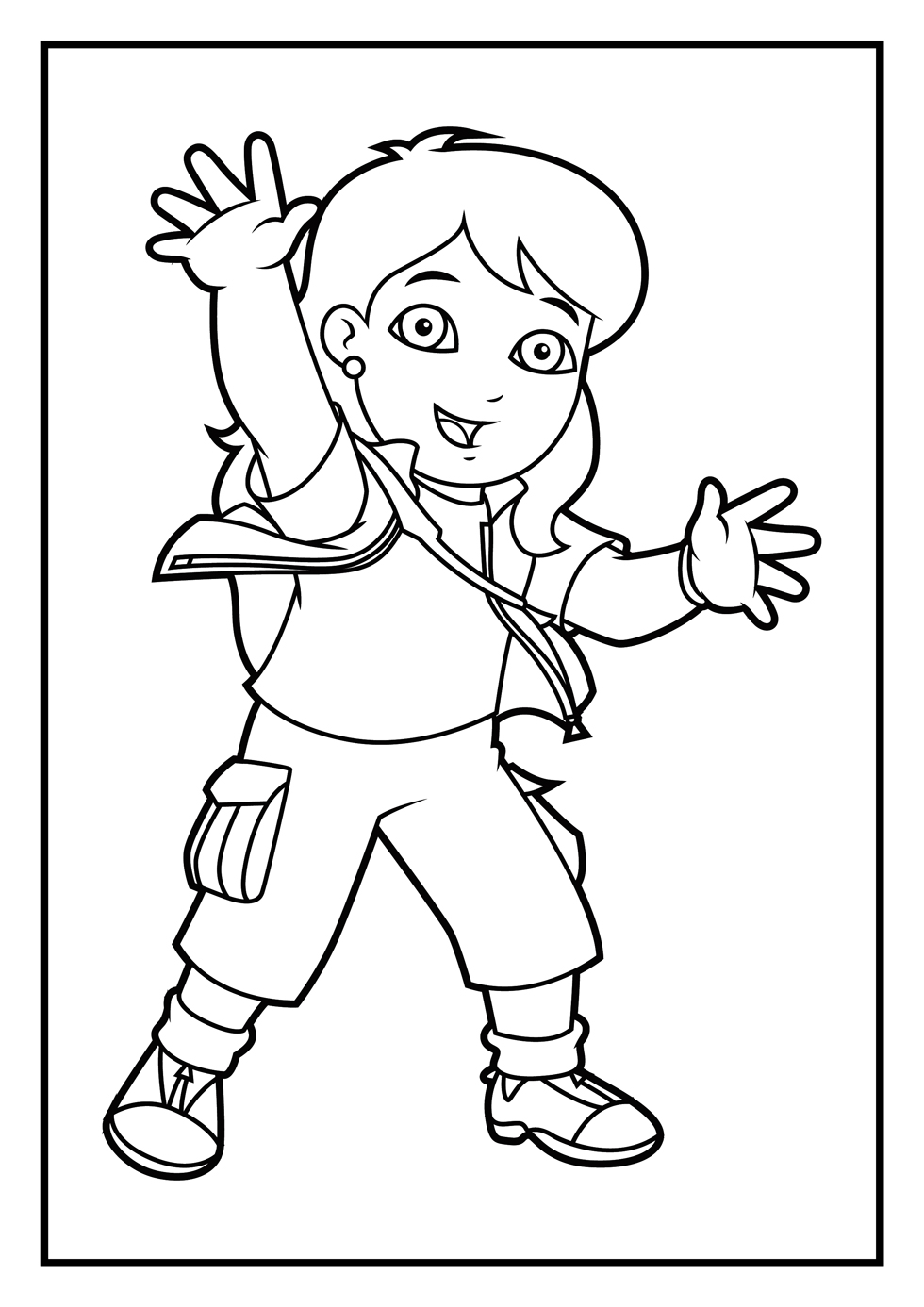 980x1386 Dora Coloring Pages Diego Coloring Pages