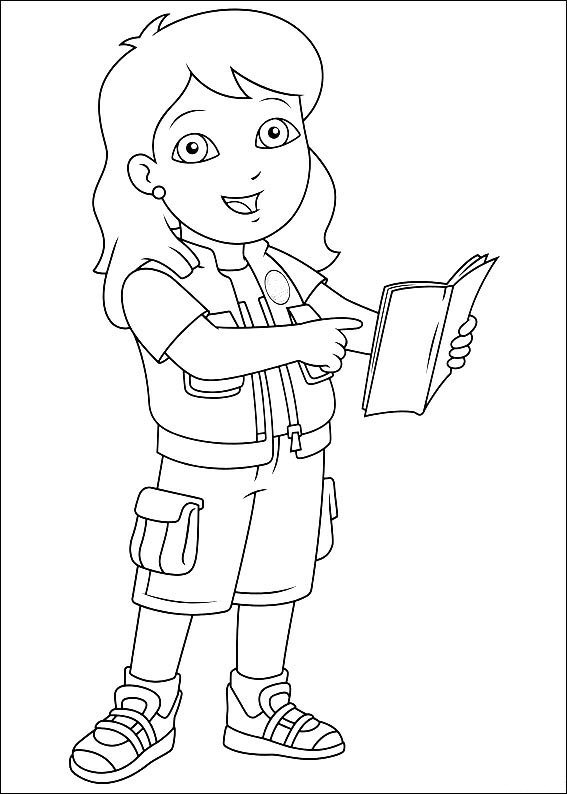 567x794 Kids N Coloring Pages Of Diego, Go Diego Go
