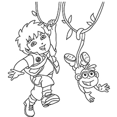 230x230 Top Free Printable Diego Coloring Pages Online