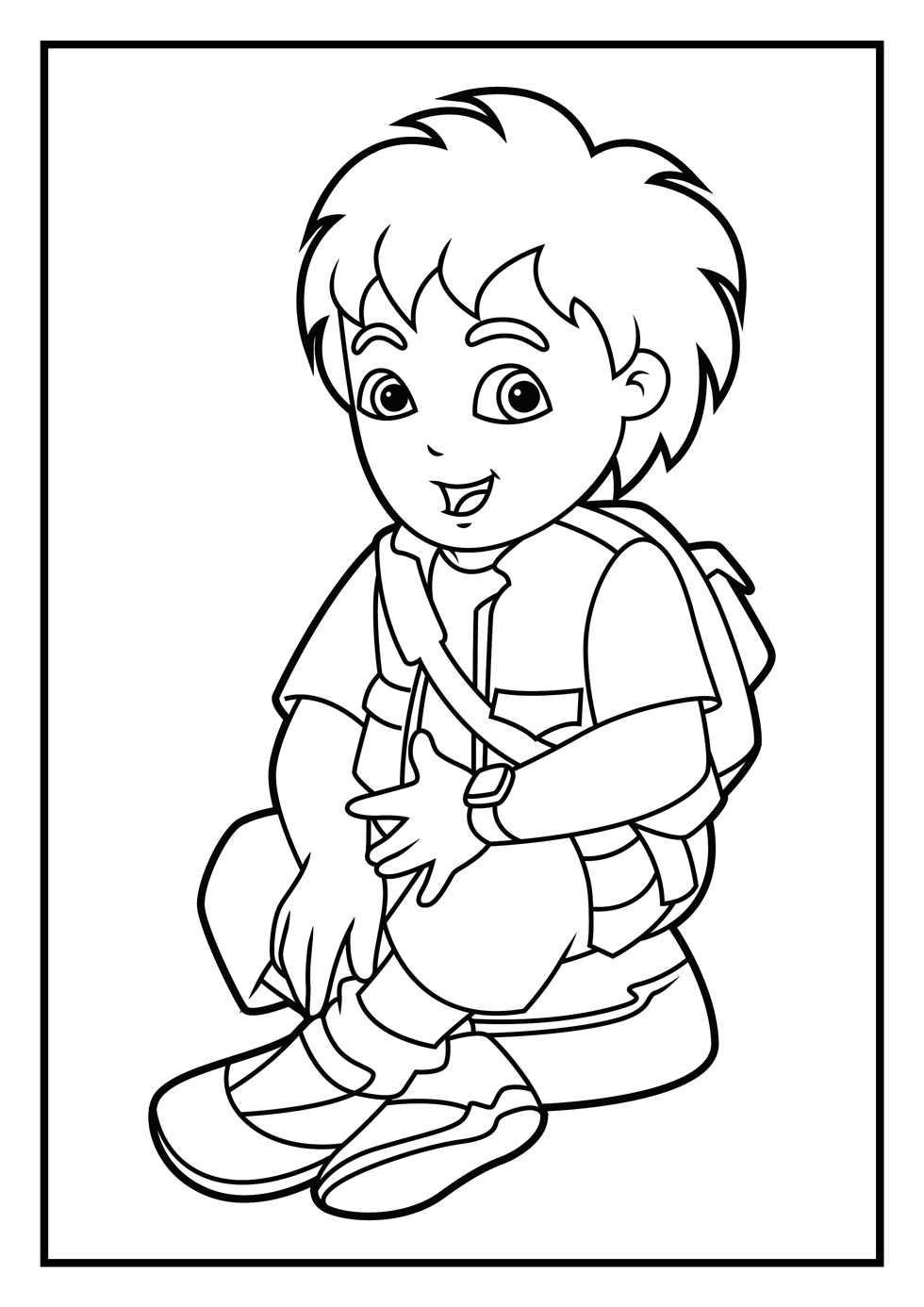 980x1386 Dora Coloring Pages Diego Coloring Pages Diego Coloring Pages