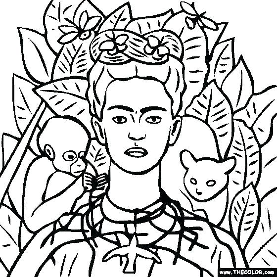560x560 Diego Rivera Coloring Pages Coloring Online Anime Best Coloring