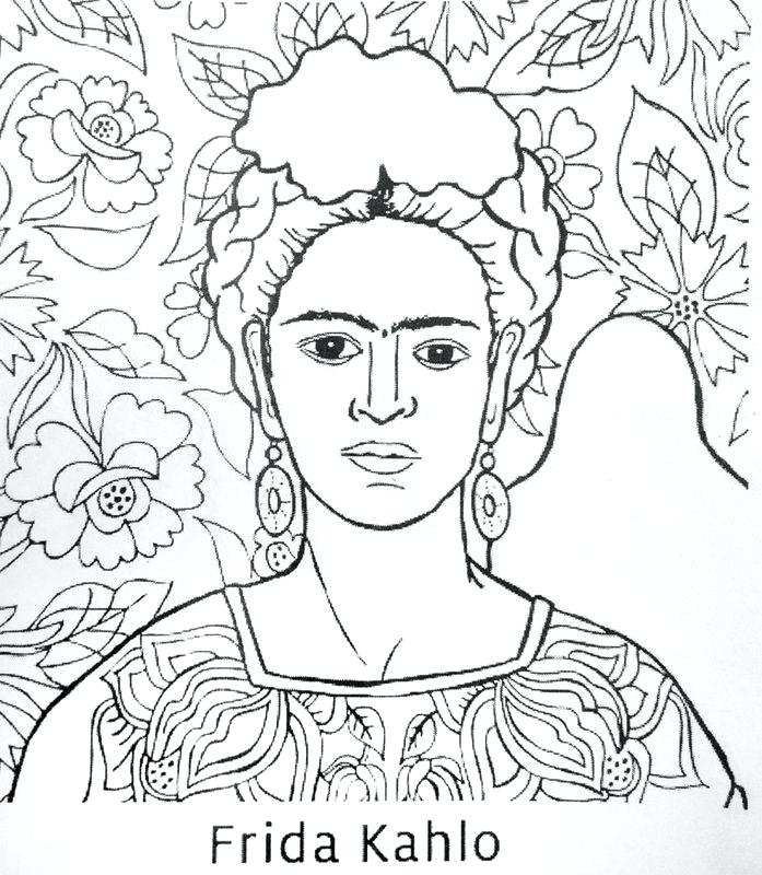 697x800 Diego Rivera Coloring Pages
