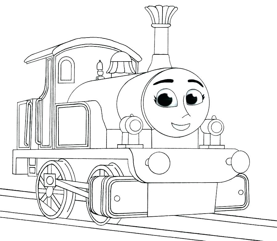 900x783 Diesel Train Coloring Pages Railroad Streamlined Diesel Engine