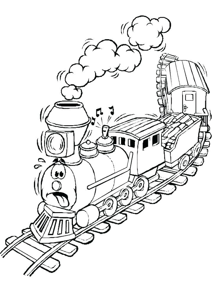 718x957 Diesel Train Coloring Pages The Train Coloring Pages Train