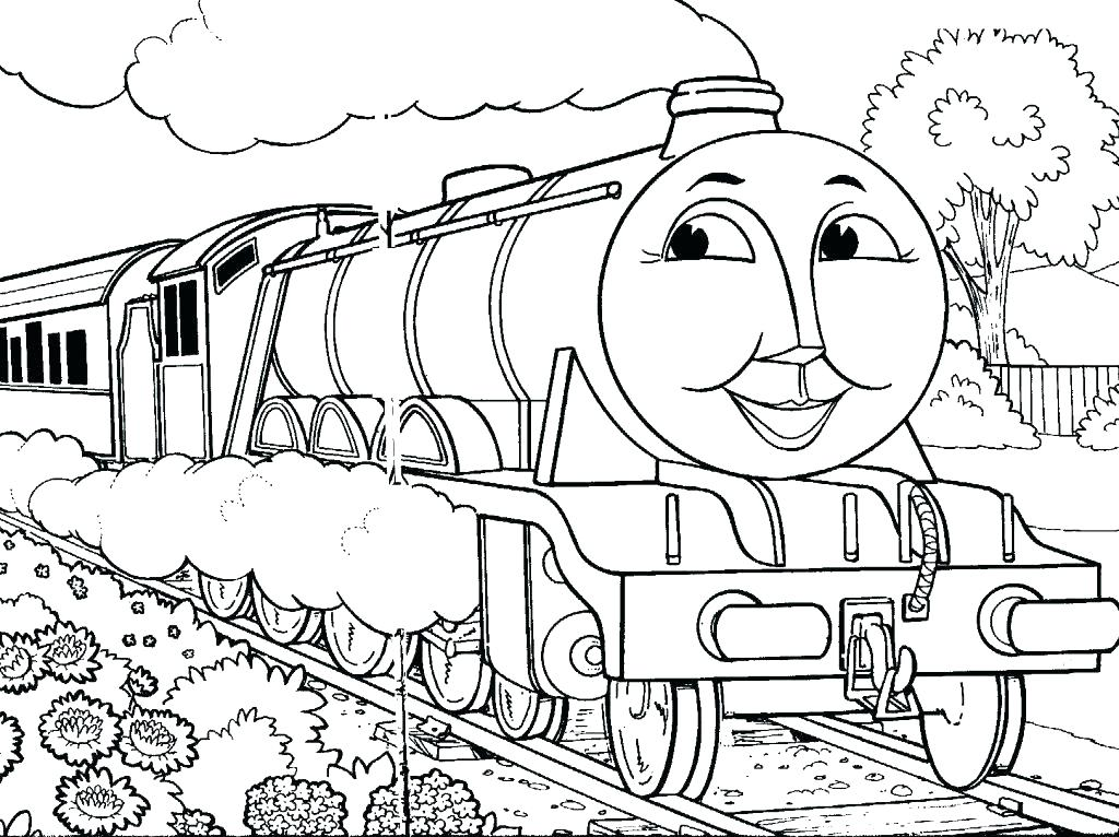 1024x766 Diesel Train Coloring Pages To Print Trains Coloring Pages