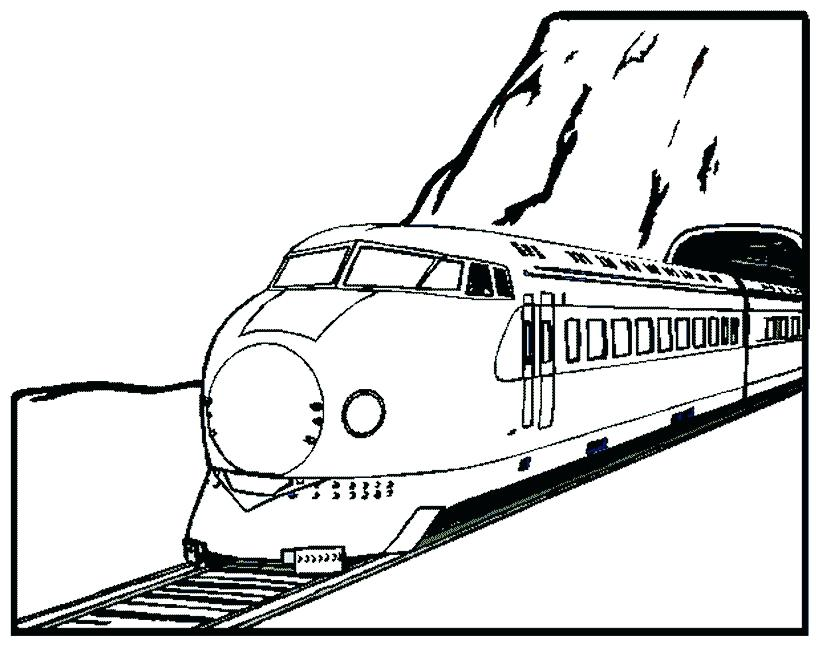 819x645 Awesome Diesel Train Coloring Pages And Train Coloring Pages