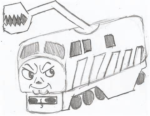 480x370 Engine Diesel Coloring Pages, Diesel Colouring Pages