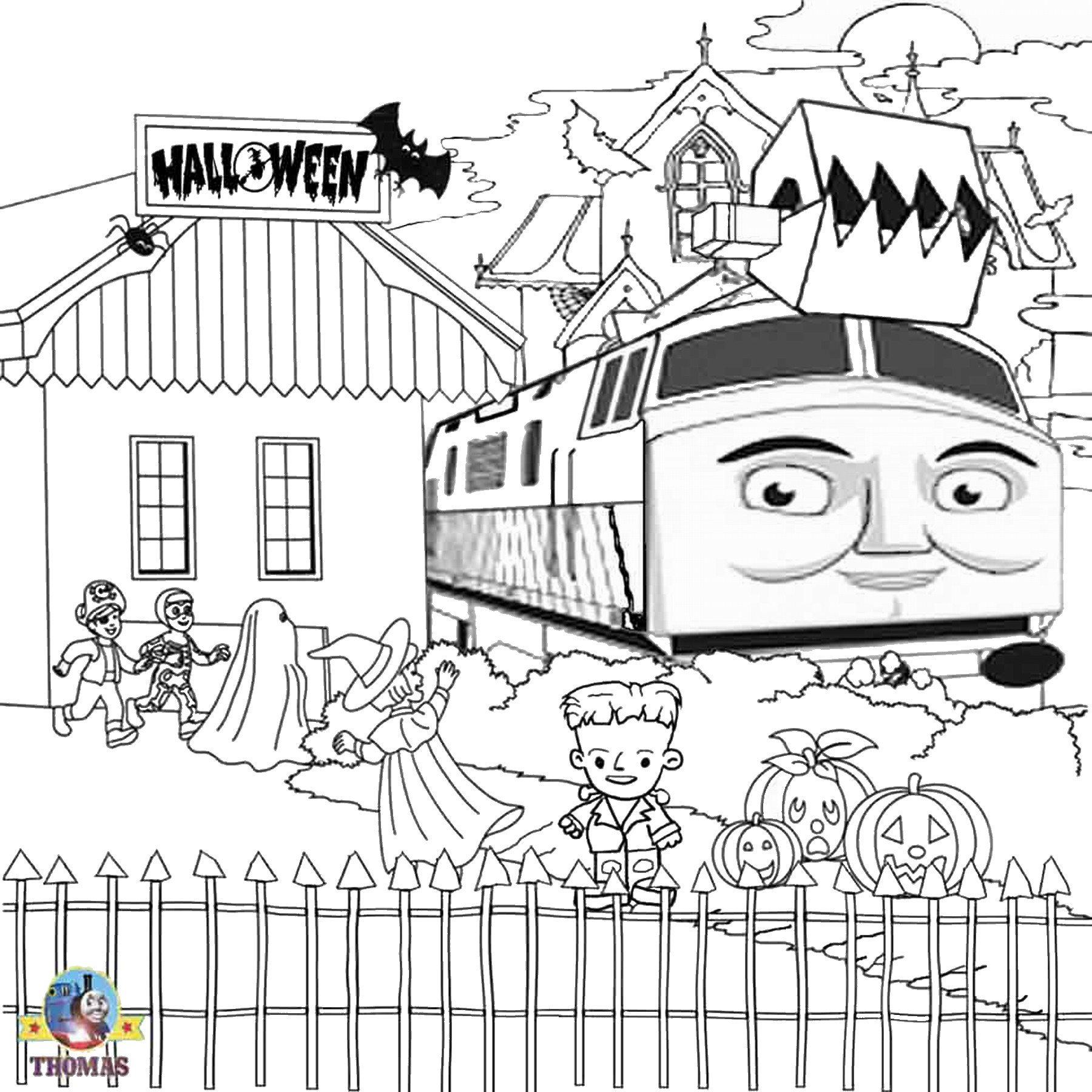 1800x1800 Thomas And Friends Coloring Pages Diesel Download Coloring
