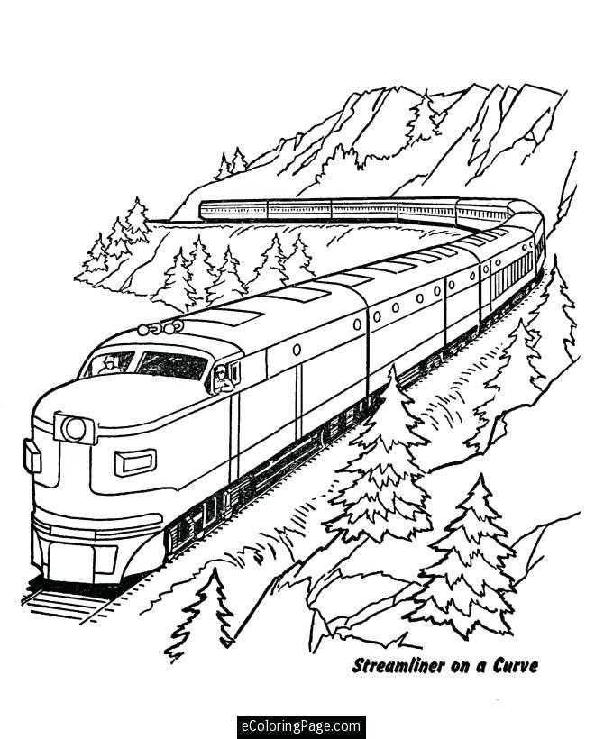 670x820 Trains Coloring Pages Train Printable C Pages Bullet Train C Pages