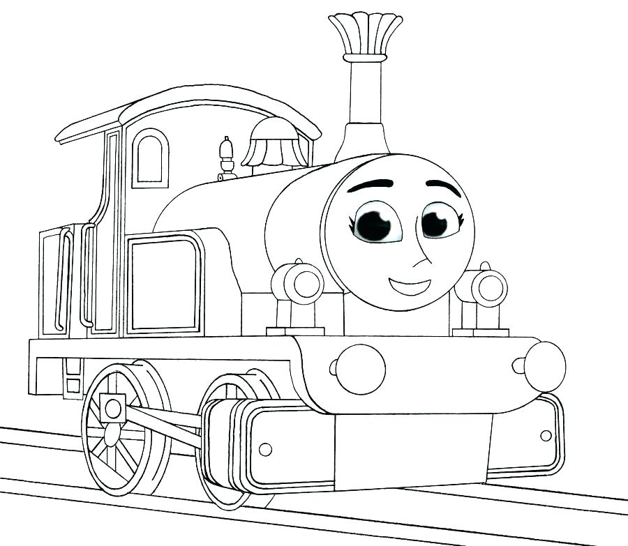 Diesel Train Coloring Pages at GetDrawings.com | Free for personal ...