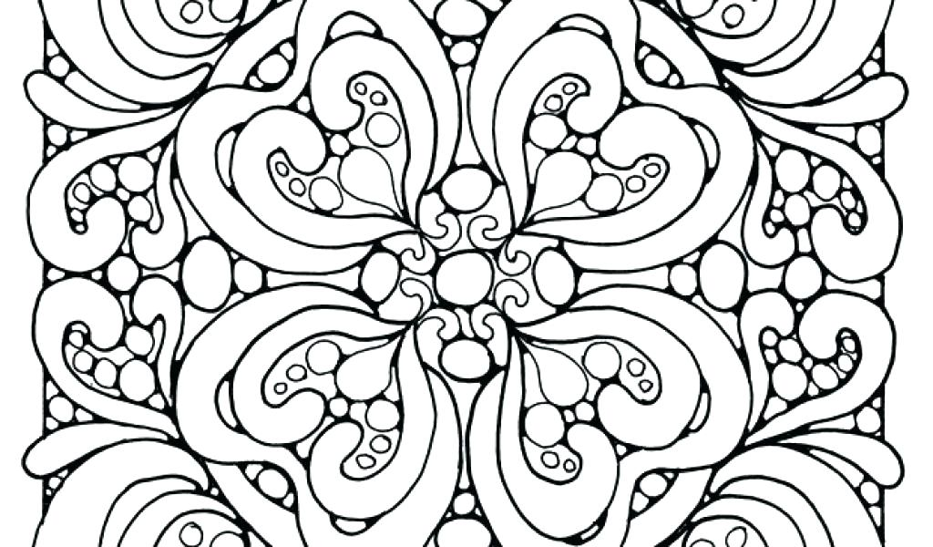 1024x600 Abstract Coloring Page Abstract Coloring Pages Page Hard Abstract