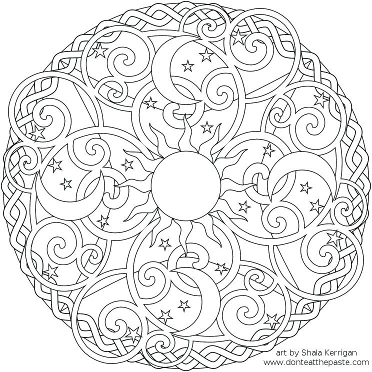 744x744 Difficult Coloring Pages Free Difficult Coloring Pages Difficult