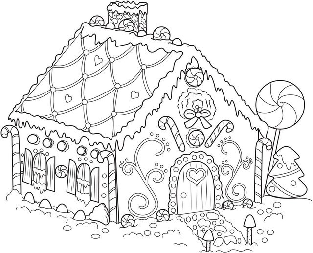 640x517 Difficult Christmas Coloring Pages Forever Coloring