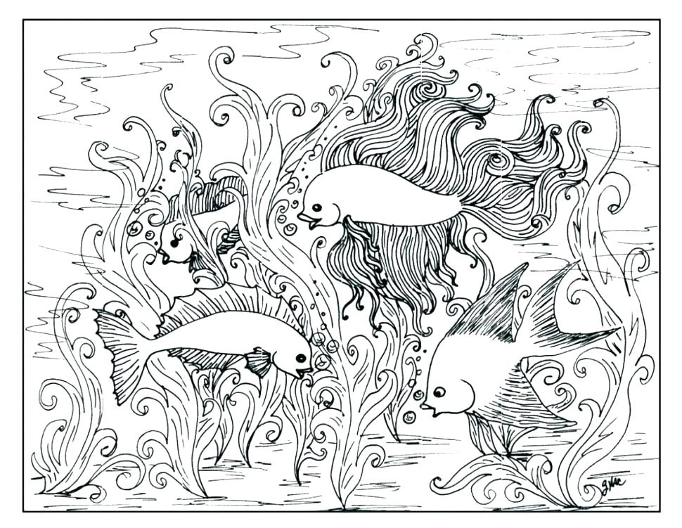 970x751 Free Printable Difficult Coloring Pages Plus Advanced Color