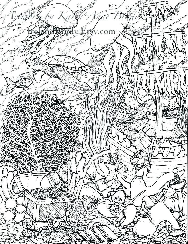736x952 Intricate Coloring Pages For Adults Intricate Coloring Books Plus