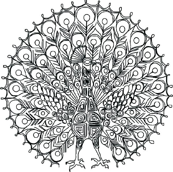 600x597 Coloring Pages Difficult