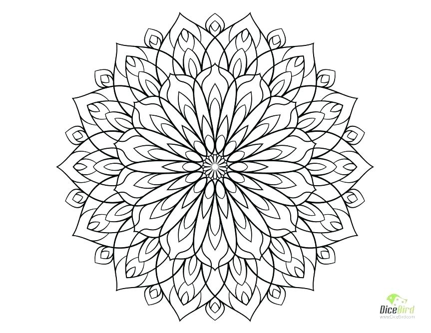 863x667 Difficult Coloring Sheets