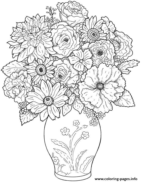 Difficult Coloring Pages Printable