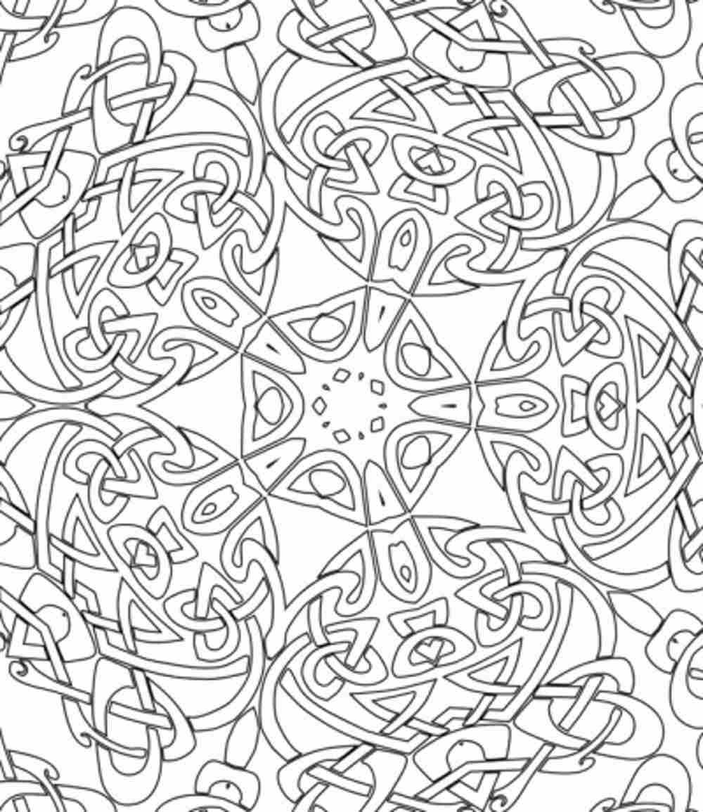 1000x1155 Difficult Coloring Pages Beautiful Difficult Ones For Adults