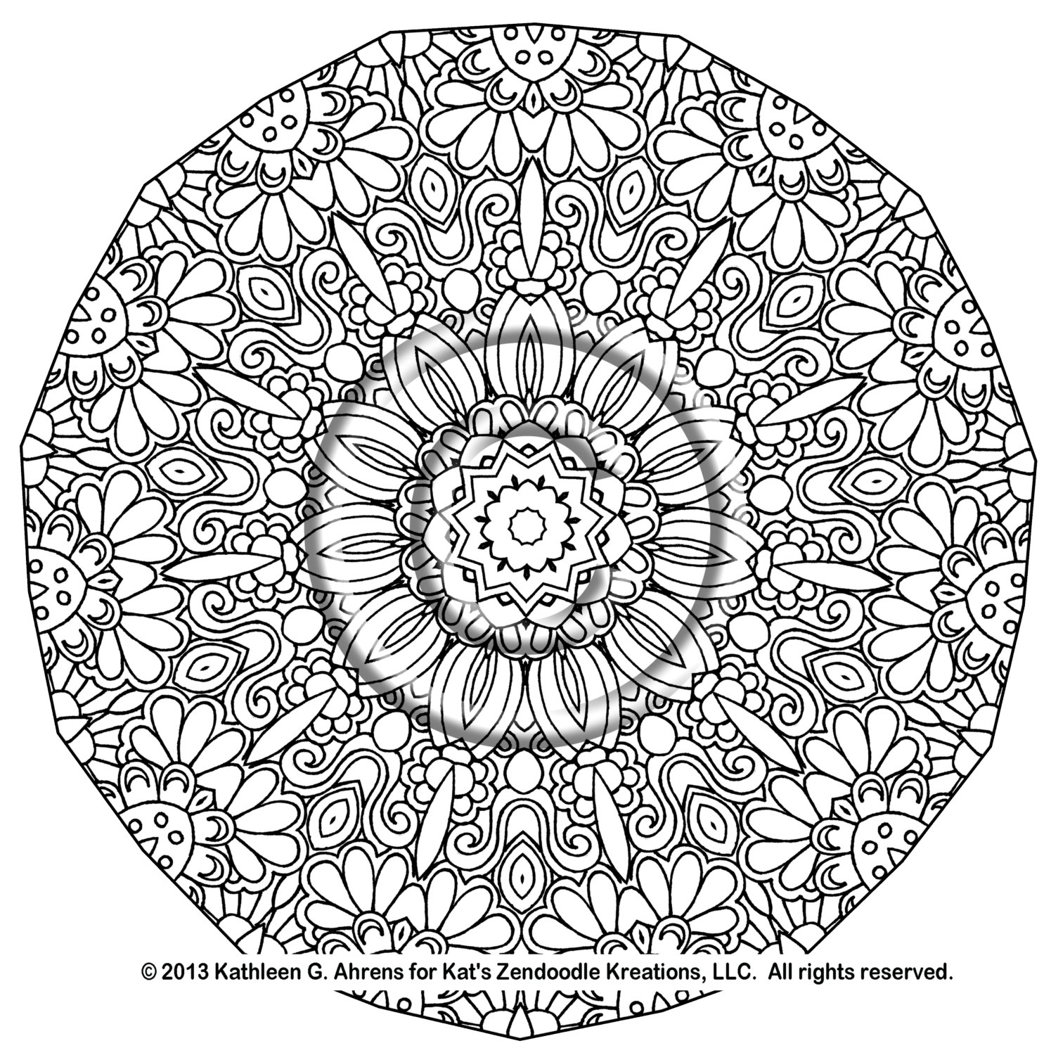 1495x1500 Difficult Mandala Coloring Pages