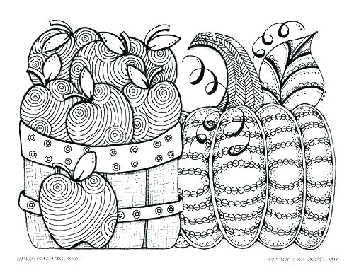 500x386 Fall Coloring Page Free Fun Coloring Pages Fall Coloring Pages
