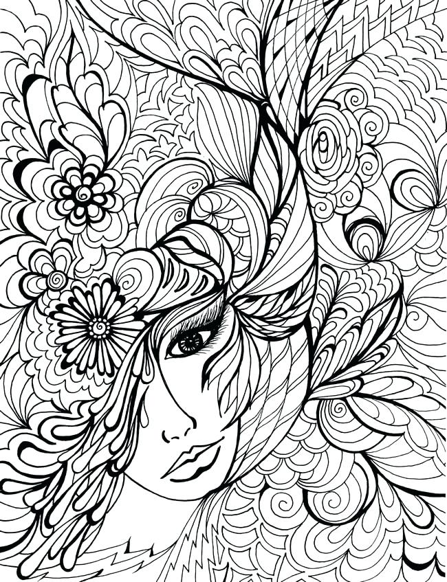 650x847 Printable Hard Coloring Pages Free Printable Hard Coloring Pages
