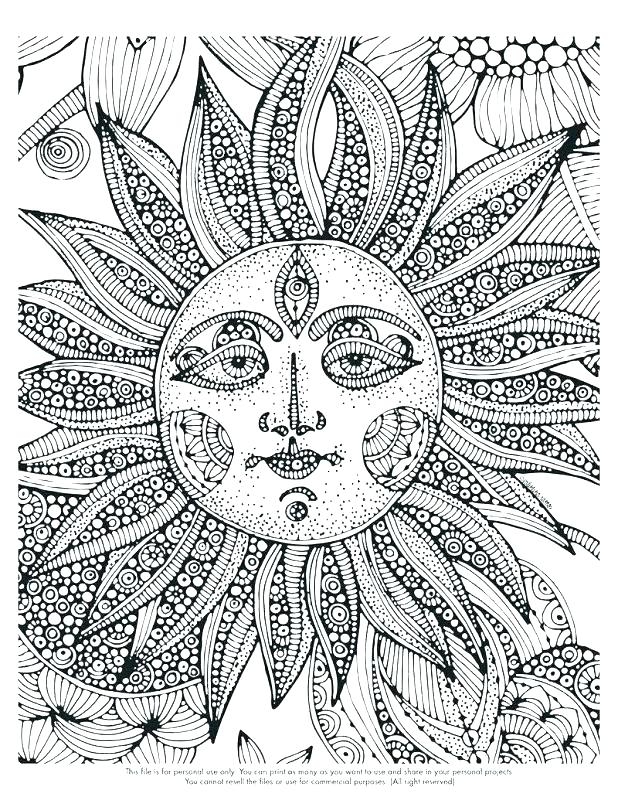 618x800 Printable Difficult Coloring Pages