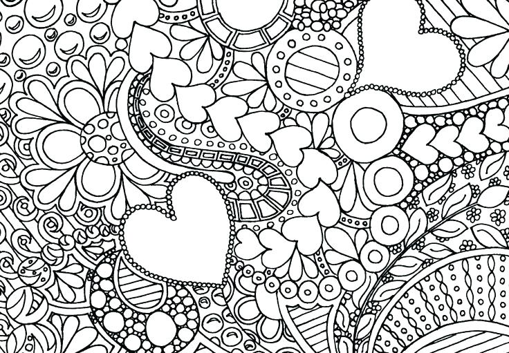 736x511 Hard Coloring Pages Free Hard Coloring Pages To Print Hard