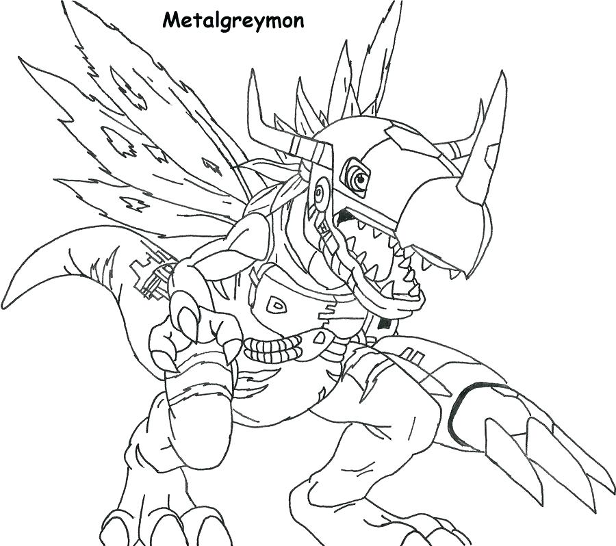 Digimon Coloring Pages at GetDrawings.com | Free for ...