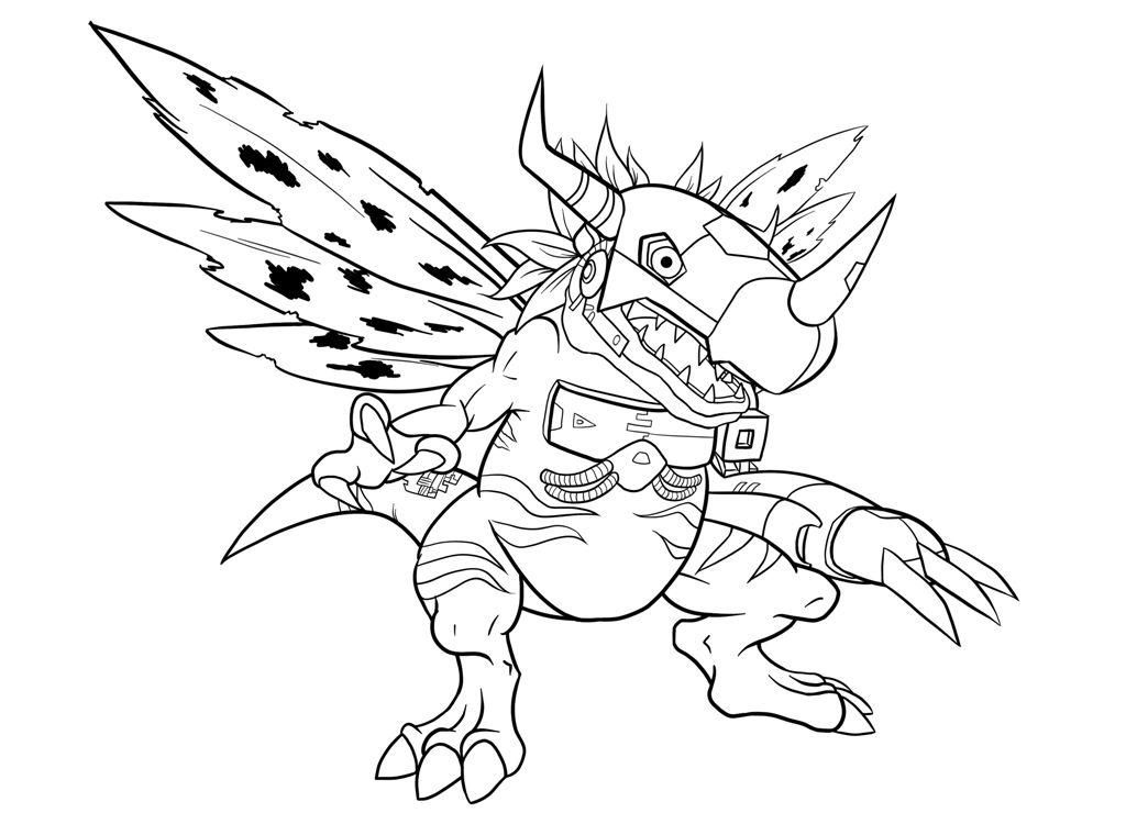 1024x740 Digimon Coloring Pages Elegant Printable Digimon Coloring Pages