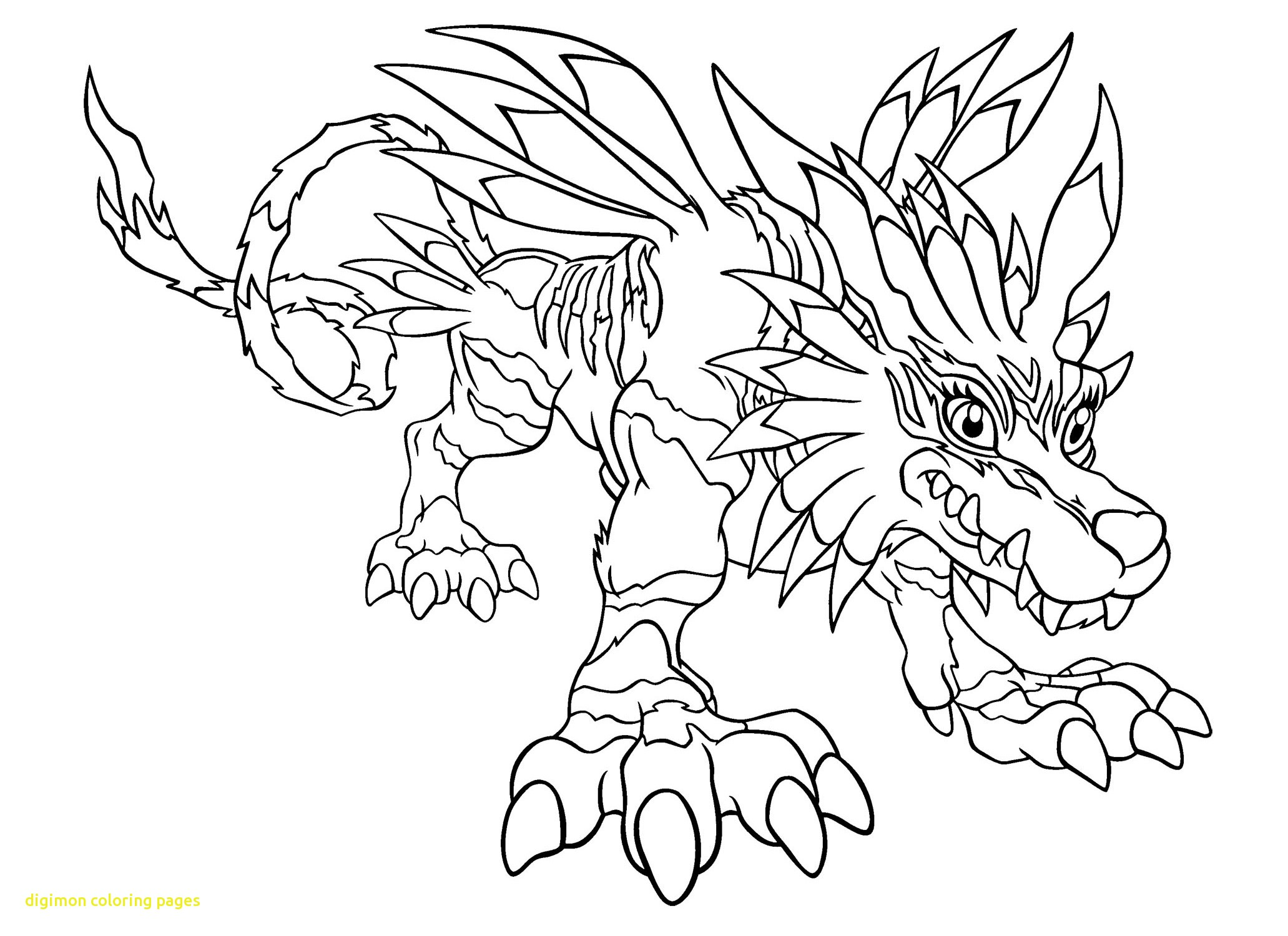 2063x1500 Digimon Coloring Pages With Digimon Coloring Pages Gabumon