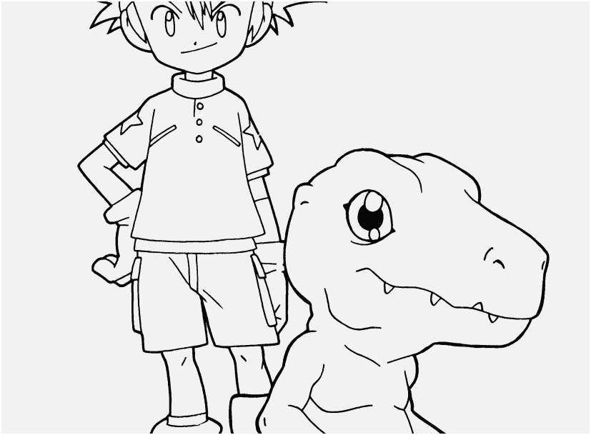 827x609 Pic Digimon Coloring Pages Information